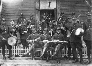 Bebelska orkiestra okresu międzywojennego. Ap.