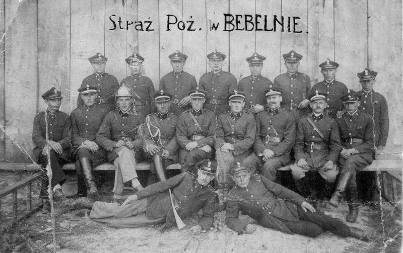 Straż ogniowa w Bebelnie. Ap.