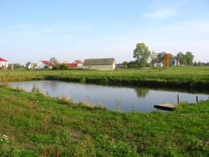 Zbiornik wodny OSP [2009 r.]. Foto W. Cichecki.