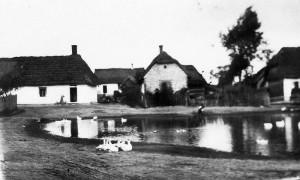 Bebelno - fragment zabudowy Zakościela [1936 r.]. Ap.