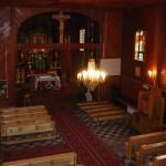 Wnętrze kościoła - widok z chóru [2006 r.]. Foto W. Cichecki.