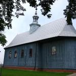 Widok na kościół od strony południowo-wschodniej [2007 r.]. Foto W. Cichecki.