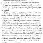 Fragment (fałszywego) odpisu aktu erekcyjnego bebelskiego kościoła. Cz. Hadamik, Bebelno koło Włoszczowy..., Kielce 2004, s. 41.