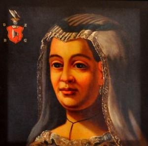 Portret Doroty z Bebelna Gosławskiej. Ze zbiorów Muzeum Zagłębia w Będzinie.