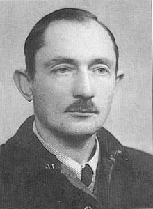 """Mjr Mieczysław Tarchalski """"Marcin"""", dowódca I Batalionu 74. Pułku AK"""