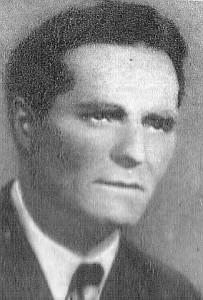 """Kpt. Franciszek Pieniak """"Przebój"""", dowódca II Batalionu 74. Pułku AK"""