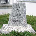 Tablica pamiątkowa upamiętniająca beatyfikację Jana Pawła II [2012 r.]. FotoW.Cichecki.