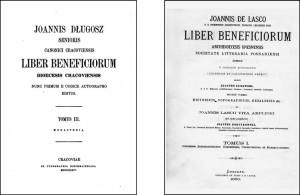 Liber beneficiorum Dioecesis Cracoviensis Jana Długosza oraz Liber beneficiorum Dioecesis Gnesnensis Jana Łaskiego to dwa najwcześniejsze źródła z których pochodzą pierwsze informacje o bebelskiej parafii.