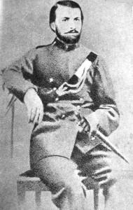 Zygmunt Chmieleński - jeden z dowódców oddziałów.