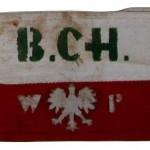 Opaska noszona przez partyzantów Batalionów Chłopskich.