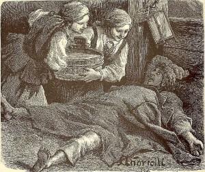 M. E. Andriolli, Śmigus dyngus, 1882.