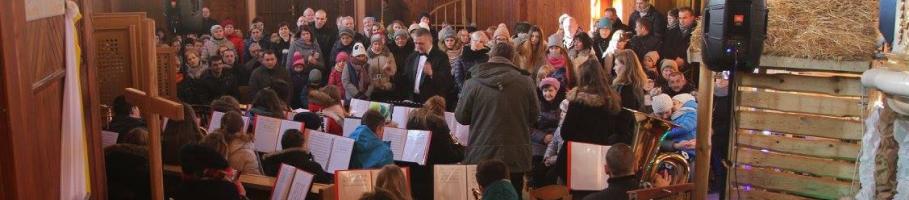 Młodzieżowa Orkiestra Dęta zagrała w Bebelnie