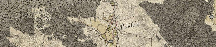 Na starych mapach – Bebelno (cz. 6)