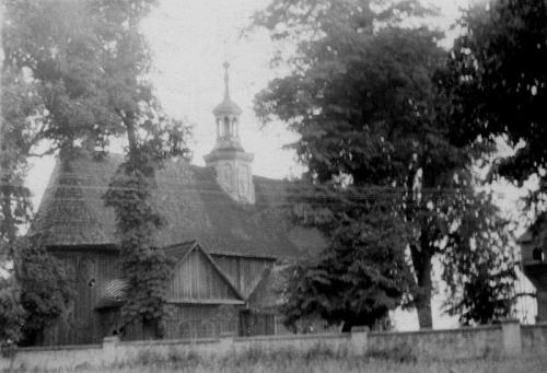 Kościół bebelski [1936 r.]. Ap.