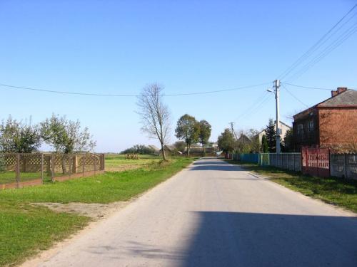 Fragment współczesnej zabudowy Krasowa [2010 r.]. Foto W. Cichecki.