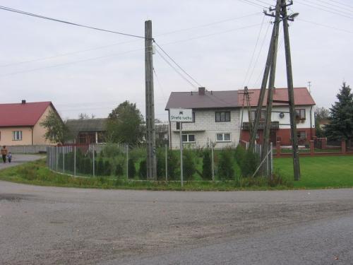 Ten sam fragment ale współczesnej zabudowy Zakościela [2012 r.]. Foto W. Cichecki.